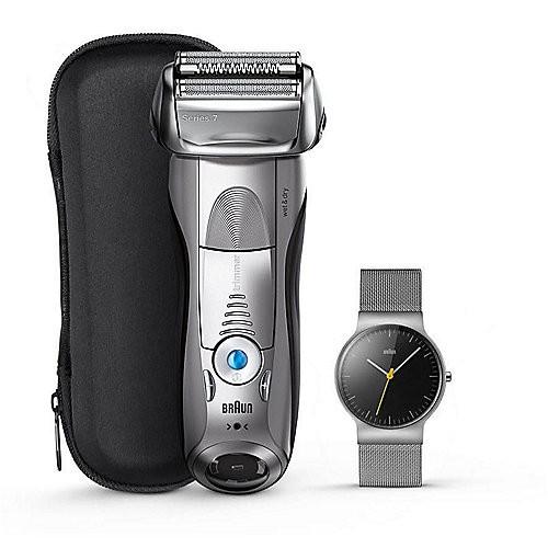 Rasoir électrique Braun Series 7 7893s + montre (sotel.de)
