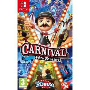 Jeu Carnival Fête Foraine sur Nintendo Switch