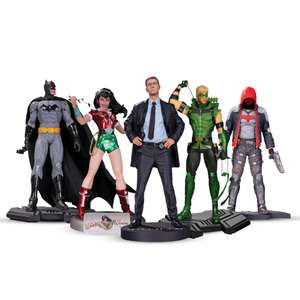 Lot 5 Figurines DC Collectibles