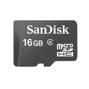Carte mémoire SanDisk 16 Go Micro SD SDHC Classe 4