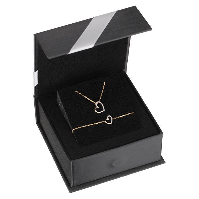 Parure Collier et Bracelet Le diamantaire - Or et Diamants
