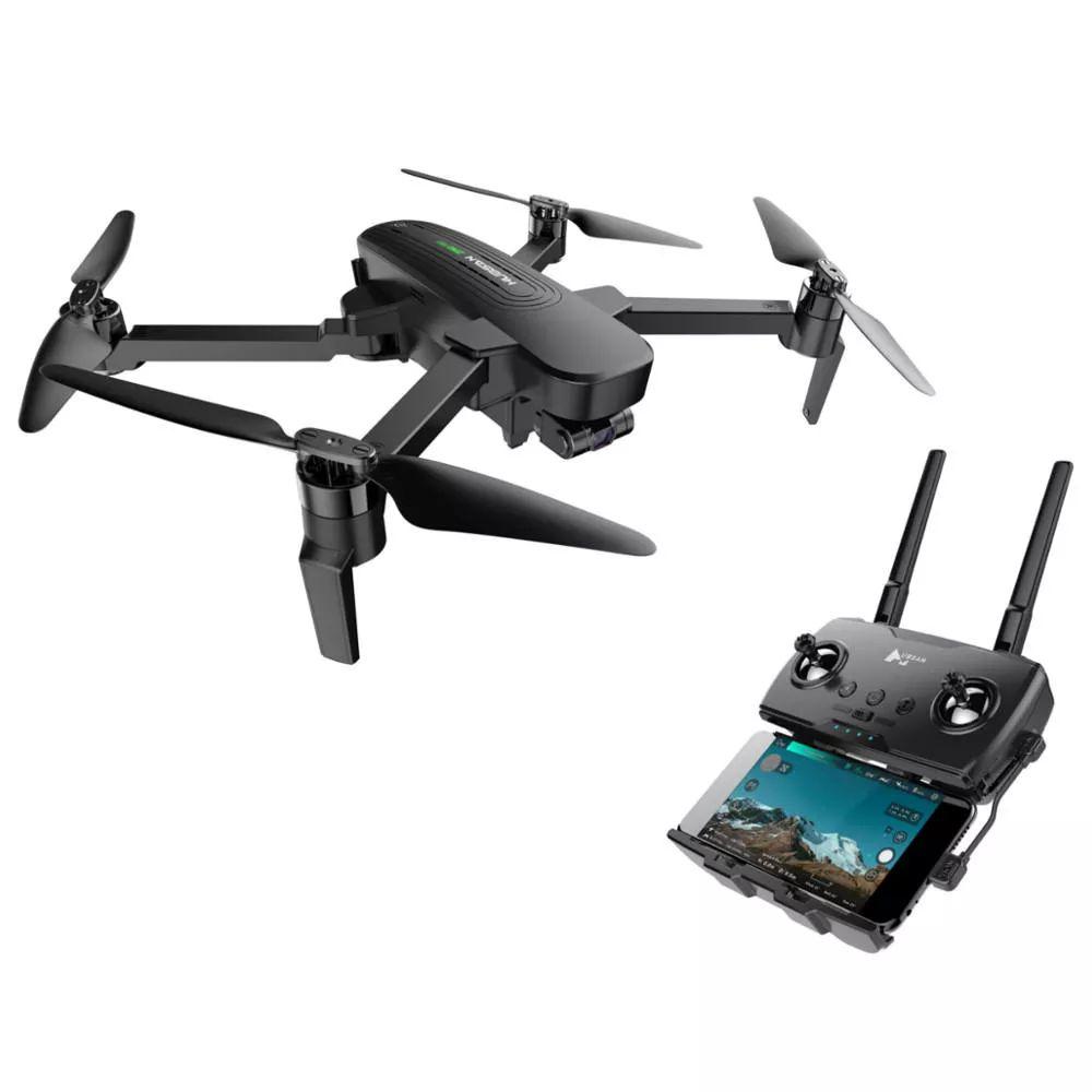 Drone Hubsan ZINO PRO GPS 5G WiFi 4KM FPV avec caméra 4K stabilisée 3 axes  (1 batterie, sans sac de transport)