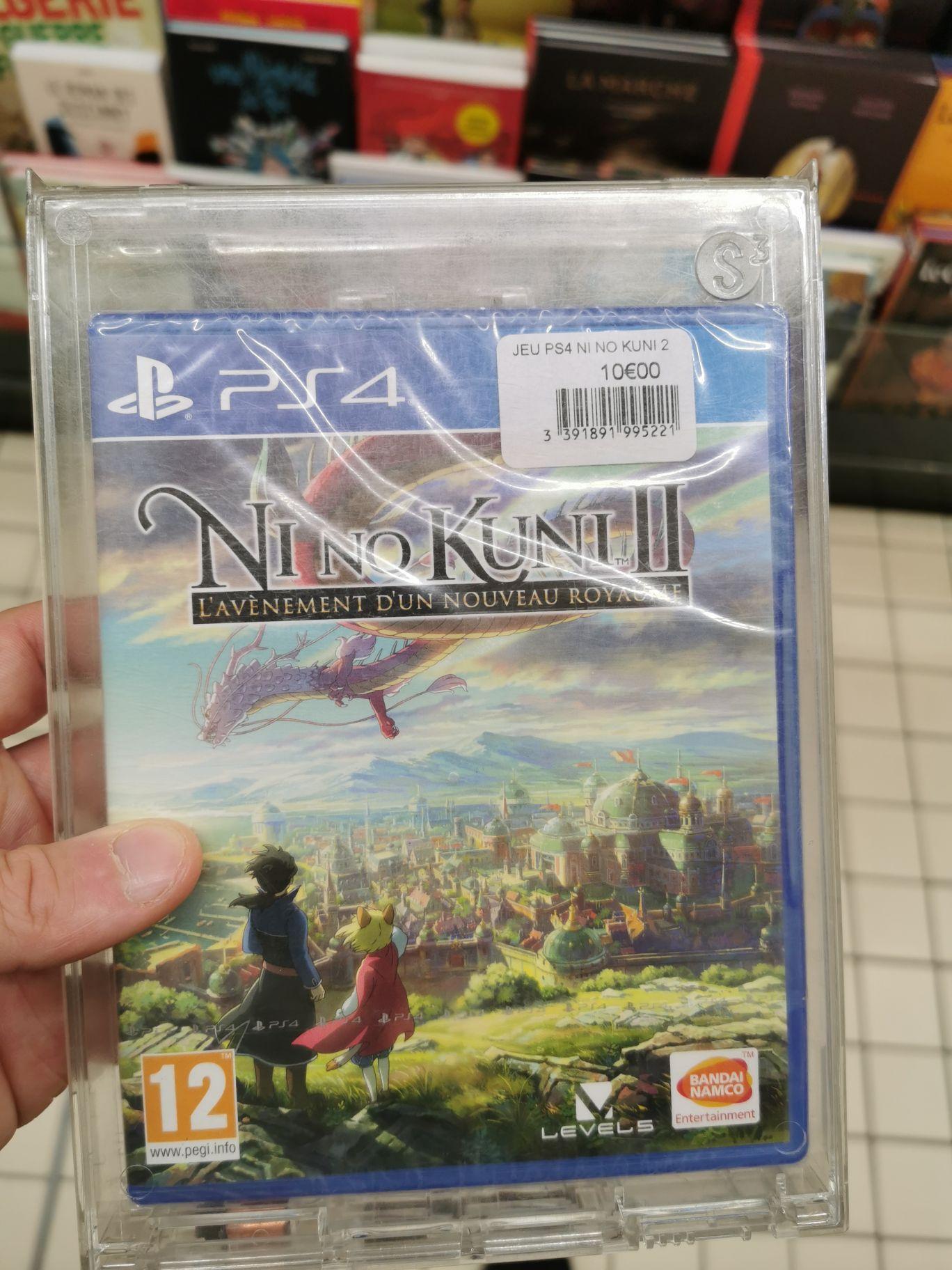 Sélection de Jeux en promotion - Ex : Ni No Kuni 2 : l'avènement d'un nouveau royaume sur PS4 (Vendenheim 67)