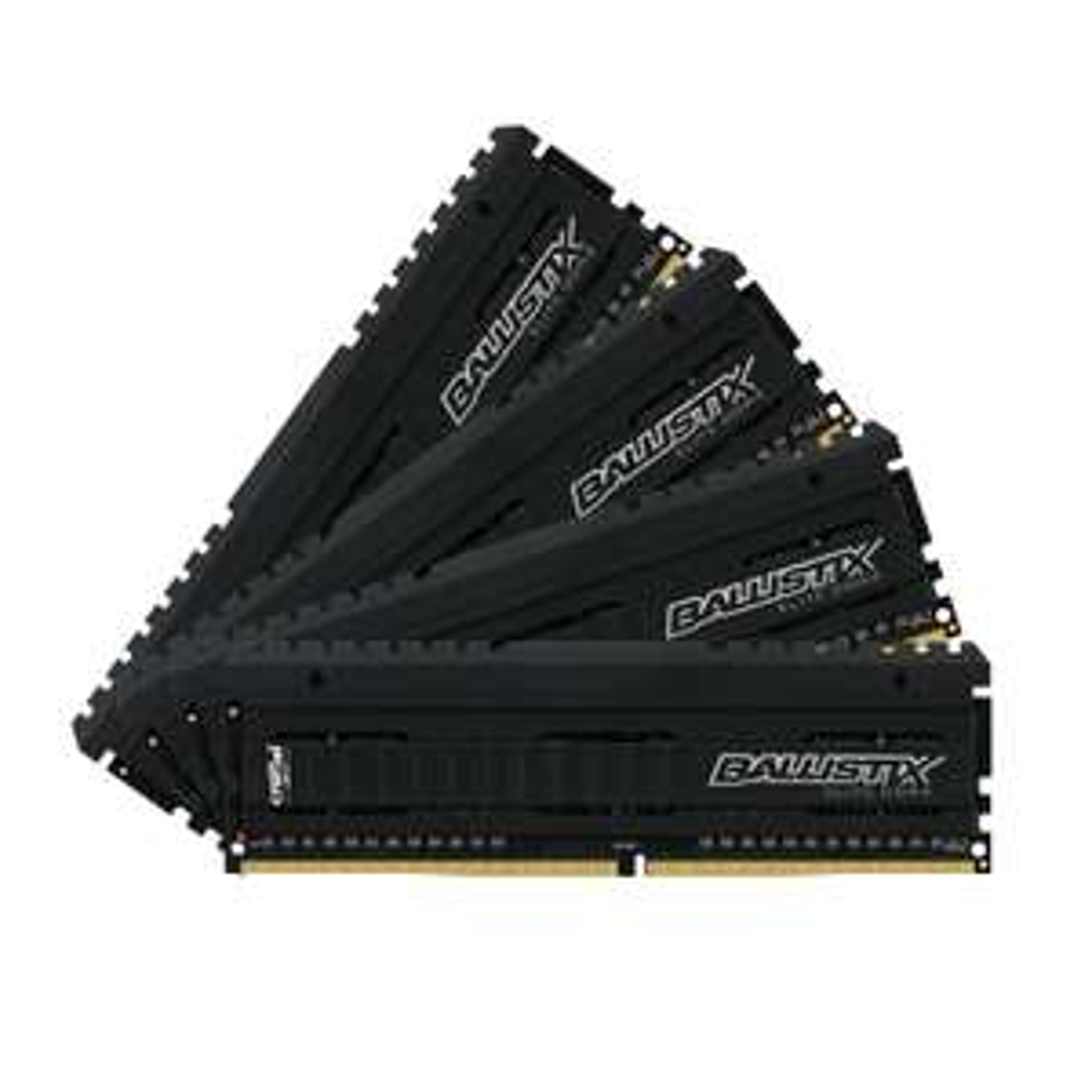 Kit Mémoire RAM Ballistix Elite BLE4C8G4D26AFEA - 32Go (8 Go x 4), DDR4, 2666 MT / s, PC4-21300