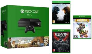 Console Xbox One 1To + Fallout 4 et 3 + Casque + Halo 5 + Gears of War Ultimate Edition + Rare Replay