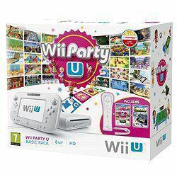 Console Wii U 8Go + 4 jeux + Wii remote plus