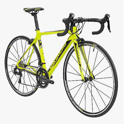 Vélo de route Nakamura Century 300 C - Jaune & Tailles S, M et L