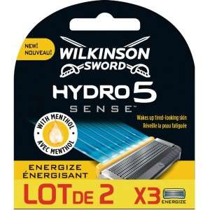 Lot de 2 packs de 3 lames Wilkinson Hydro 5 Sense (Via 15.33€ sur la carte)