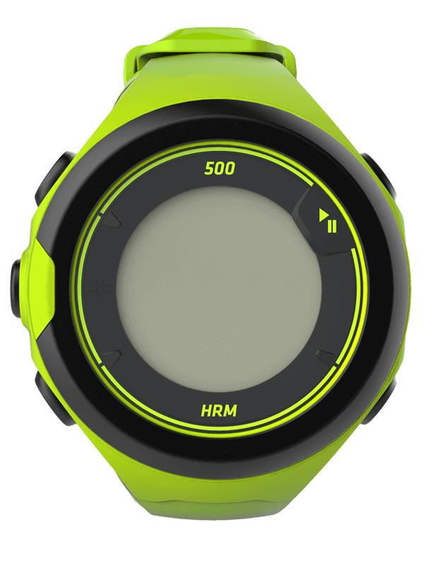 Montre de running Kalenji OnMove 500 (Vert acide, Vert d'eau ou Noir) - GPS, Cardio