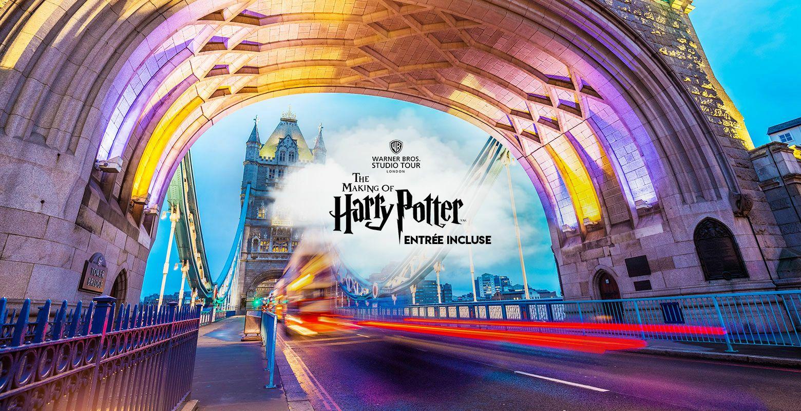 Séjour The Tavistock Hotel + Entrée Studio Harry Potter (Avec ou sans transport) - A partir de 2 nuits, 1 personne