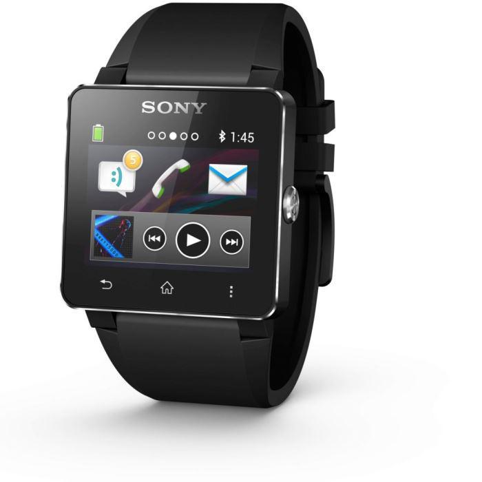 Montre connectée Sony SmartWatch 2 - Noir
