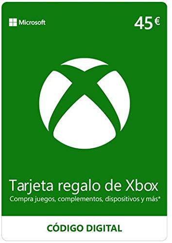 Carte Microsoft Xbox Live de 45€
