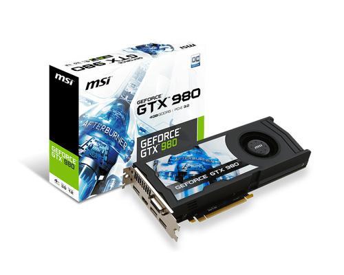 Carte graphique MSI GeForce GTX 980 4GD5 OCV1