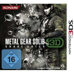 Metal Gear Solid : Snake Eater 3D [import allemand]