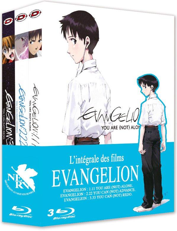 Coffret Blu-ray Neon Genesis Evangelion - Trilogie (1.11, 2.22 & 3.33)