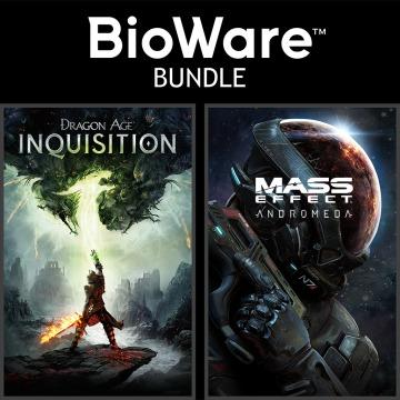 Bundle BioWare - Dragon Age: Inquisition Jeu de l'année ou GOTY + Mass Effect : Andromeda Recrue deluxe sur PS4 (Dématérialisé)