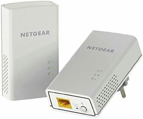 Pack de 2 Adaptateurs CPL Netgear PL1200-100PES 1200 Mbps - Blanc