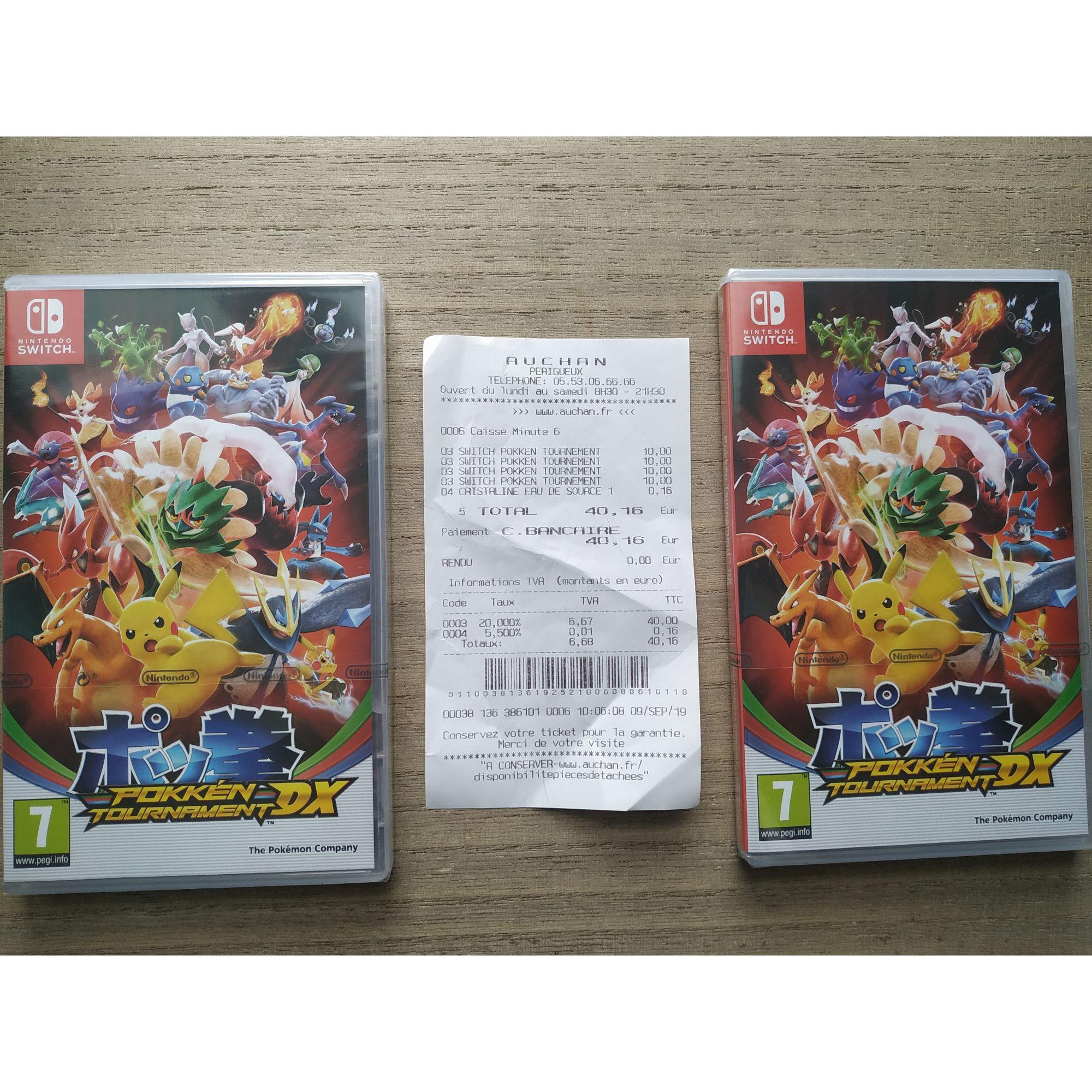 Jeu Pokken Tournament DX sur Nintendo Switch - Marsac-sur-l'Isle (24)
