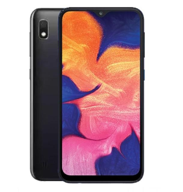 "Smartphone 6.2"" Samsung Galaxy A10 - HD+, Exynos 7884, 2 Go de RAM, 32 Go, noir"