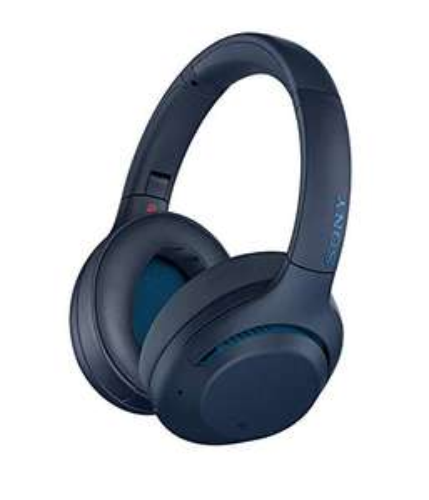 Casque audio sans-fil Sony WH-XB900N - Bluetooth 4.2, bleu (+28.50€ en superpoints) (vendeur Boulanger)