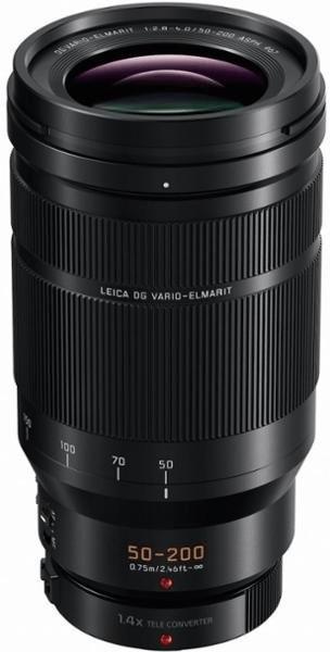 Objectif photo télézoom Panasonic Leica DG Vario-Elmarit 50-200 mm f2.8-4 ASPH. O.I.S.