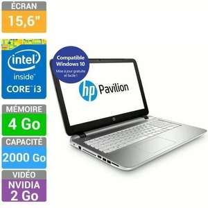 "PC portable 15,6"" HP Pavilion 15-p297nf (i3, 4 Go Ram, 2 To HDD, GT 730M)"