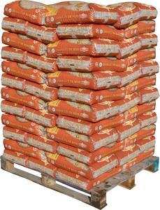 Palette de 72 sacs de granules de bois Flamino (72 x 15 kg) - Saint Seurin sur l'isle (33)