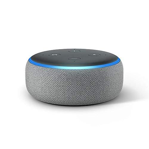 Enceinte Connectée Amazon Echo Dot 3 (3ème génération) - Gris anthracite, gris chiné et sable