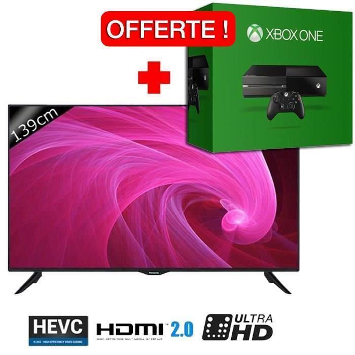 "TV  55"" Panasonic TX-55CX300E - UHD + Xbox One 500 Go"