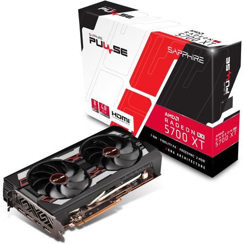 Carte Graphique AMD Sapphire Pulse Radeon RX 5700 XT OC - 8 Go + 3 mois Xbox Game Pass
