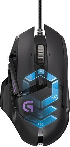 Souris gaming RVB personnalisable Logitech G502 Proteus Spectrum avec 11 boutons programmables