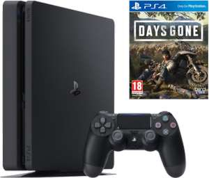 Console Sony PlayStation PS4 Slim - 500 Go + Days Gone (Frontaliers Suisse)