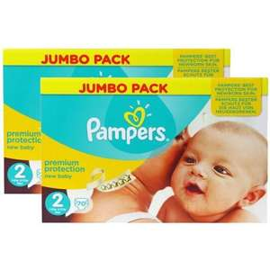 Lot de 140 couches Pampers New Baby T2