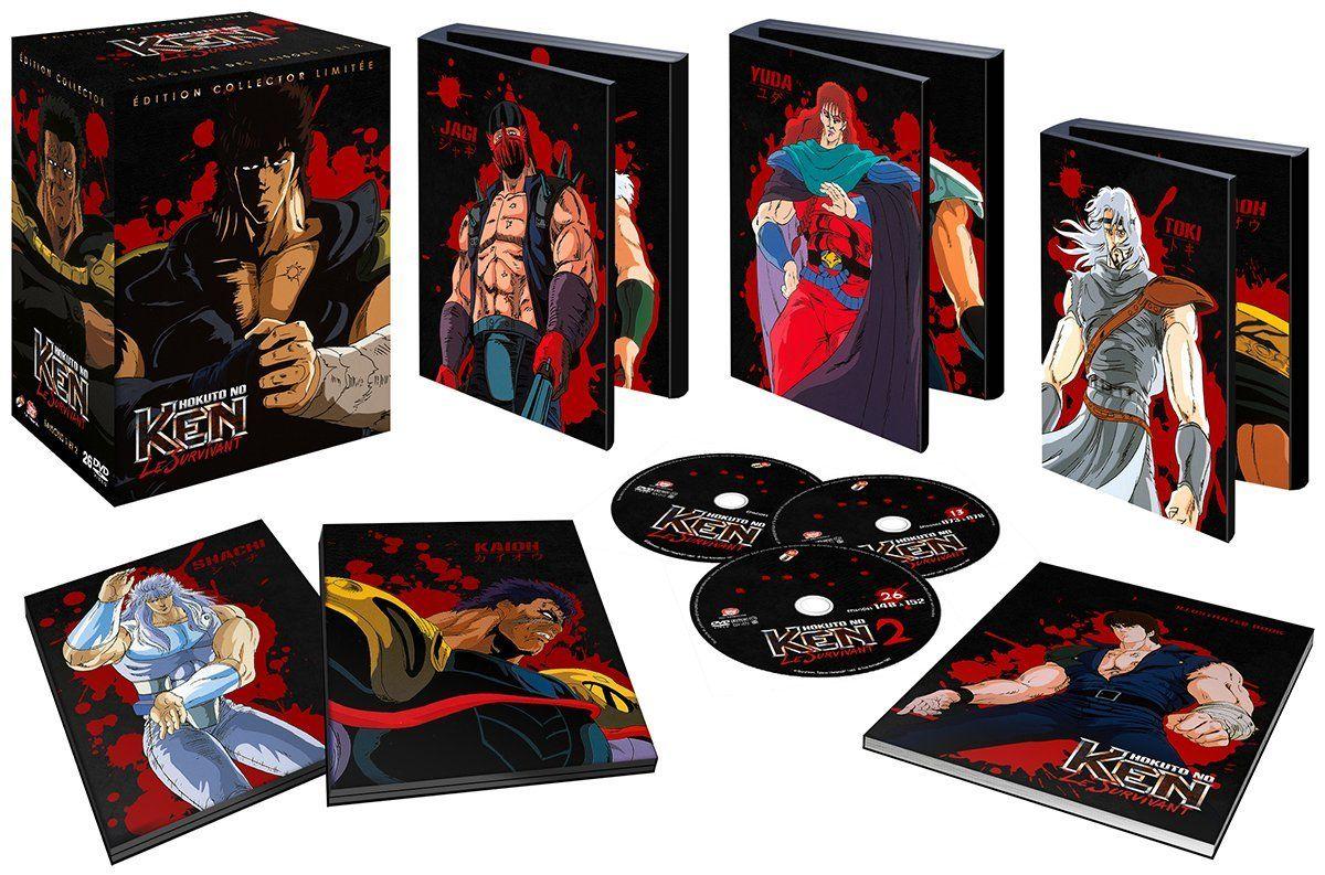 Sélection de coffrets en promotion - Ex: Coffret DVD édition Collector - Ken le Survivant l'intégrale (Saison 1 et 2) + Artbook