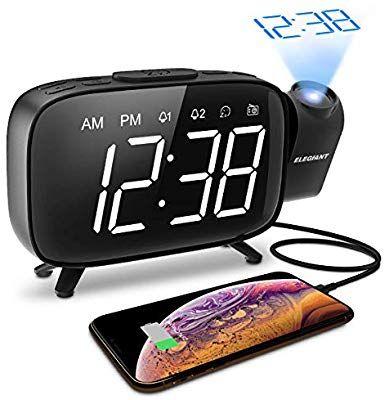Radio Réveil Elegiant à projection (vendeur tiers)