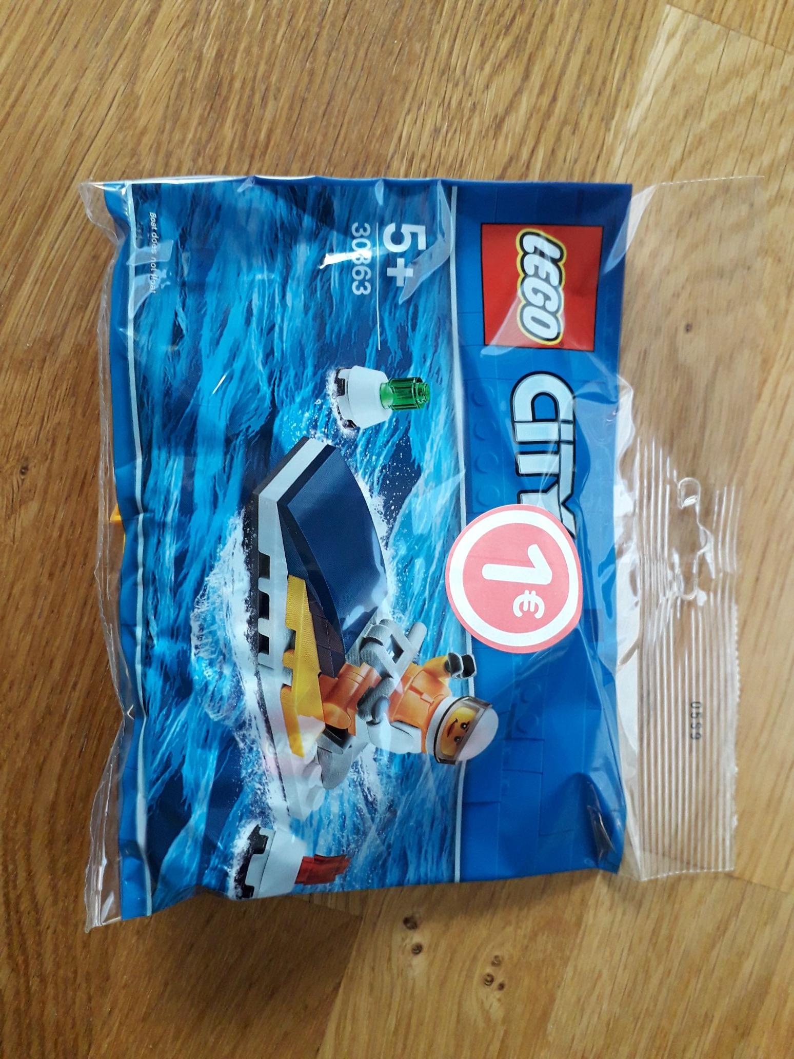 Mini-figurine Lego City Jet Ski Adventure 30853 en Sachet - Fleury-les-Aubrais (45)