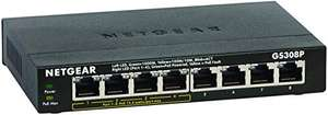 Switch Netgear GS308P-100PES Gigabit Ethernet - 8 Ports dont 4 POE