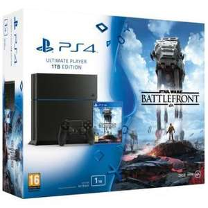 [Carte Fnac Gaming] Pack PS4 1 To Noire + Star Wars Battlefront + Manette Subsonic