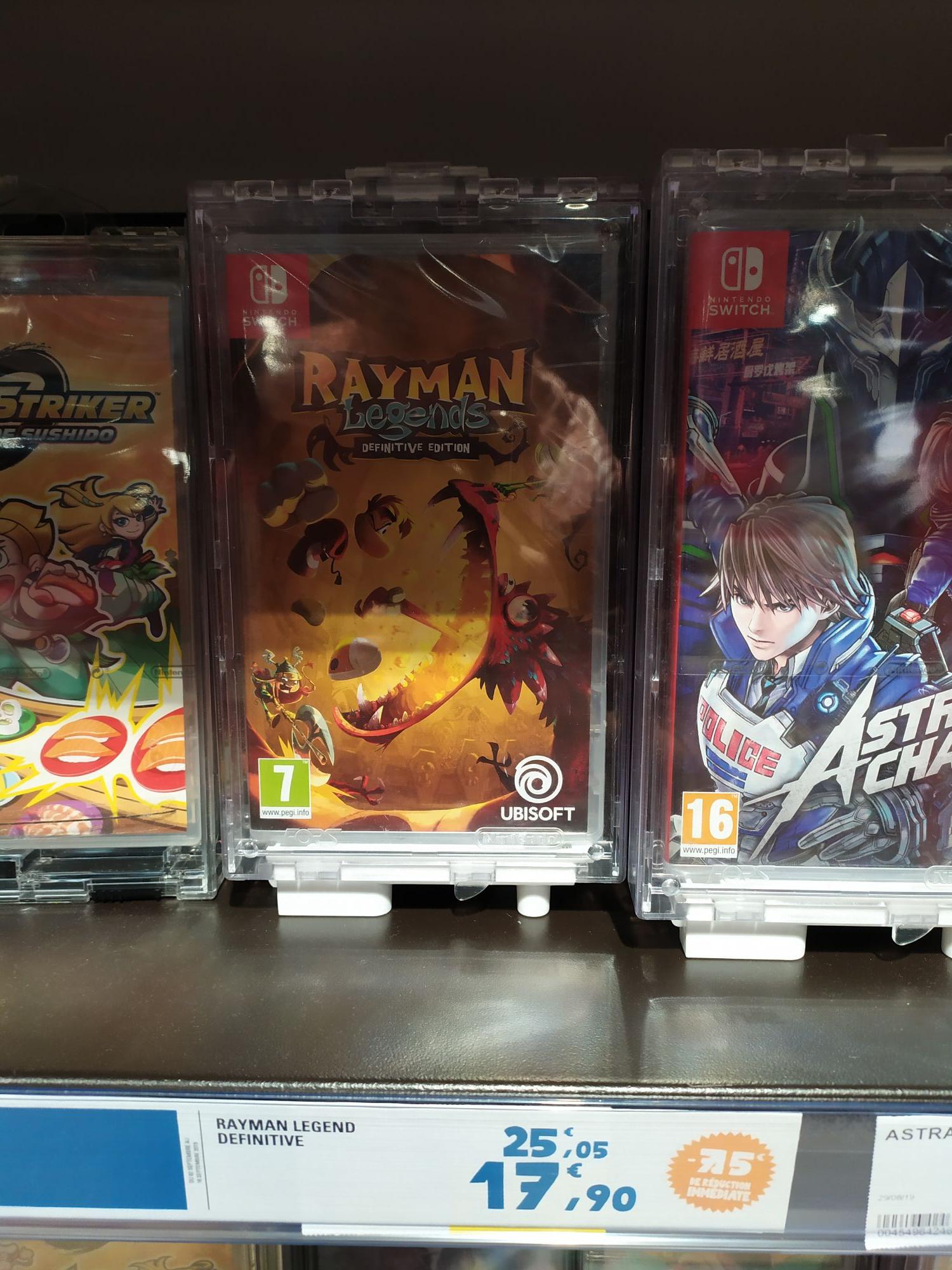 Rayman Legends - Édition Définitive sur Switch - Blagnac (31)