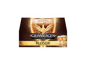 Lot de 2 packs de 10 bières Grimbergen - 20x25 cl