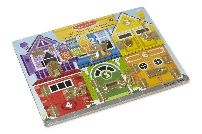 planche à verrous jeu éducatif / montessori à partir de 2 ans