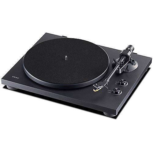 Platine vinyle Hifi avec émetteur Bluetooth pour haut-parleurs et écouteurs Teac TN-280BT(B)