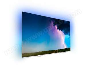 "TV 65"" Philips 65OLED754/12 - 4K UHD, OLED, Smart TV, Ambilight 3 côtés, Dolby Vision / Atmos (via ODR de 300€)"