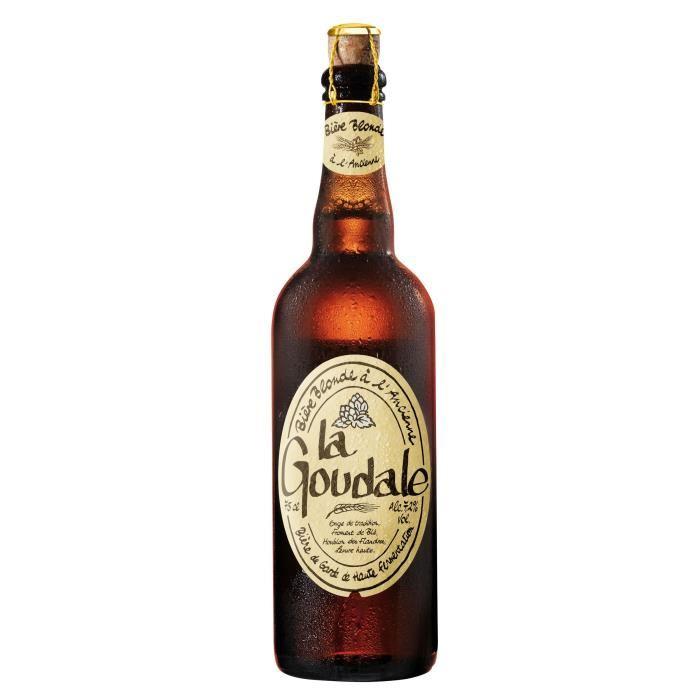 Sélection de bières en promotion - Ex : La Goudale blonde ou ambrée - 75 cl
