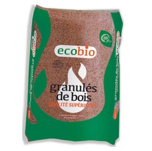 72 sac de granulés de bois Eco Bio (Via 30.88 sur la Carte Fidélité)