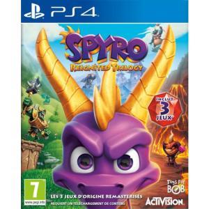 Spyro Reignited Trilogy sur PS4 + 0,97€ de SuperPoints