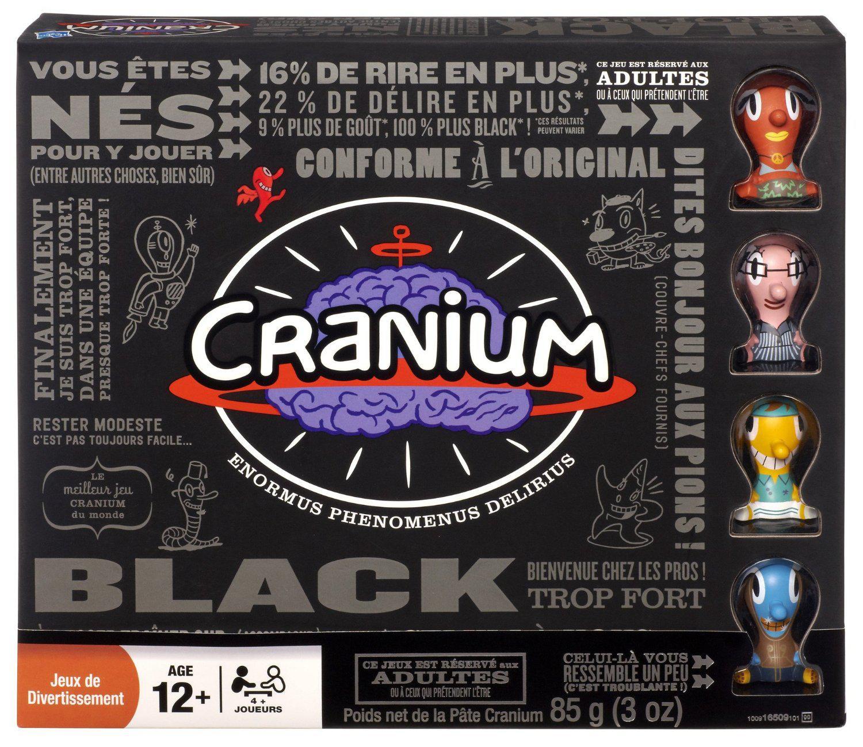 Jeu de société Cranium Black d'Hasbro