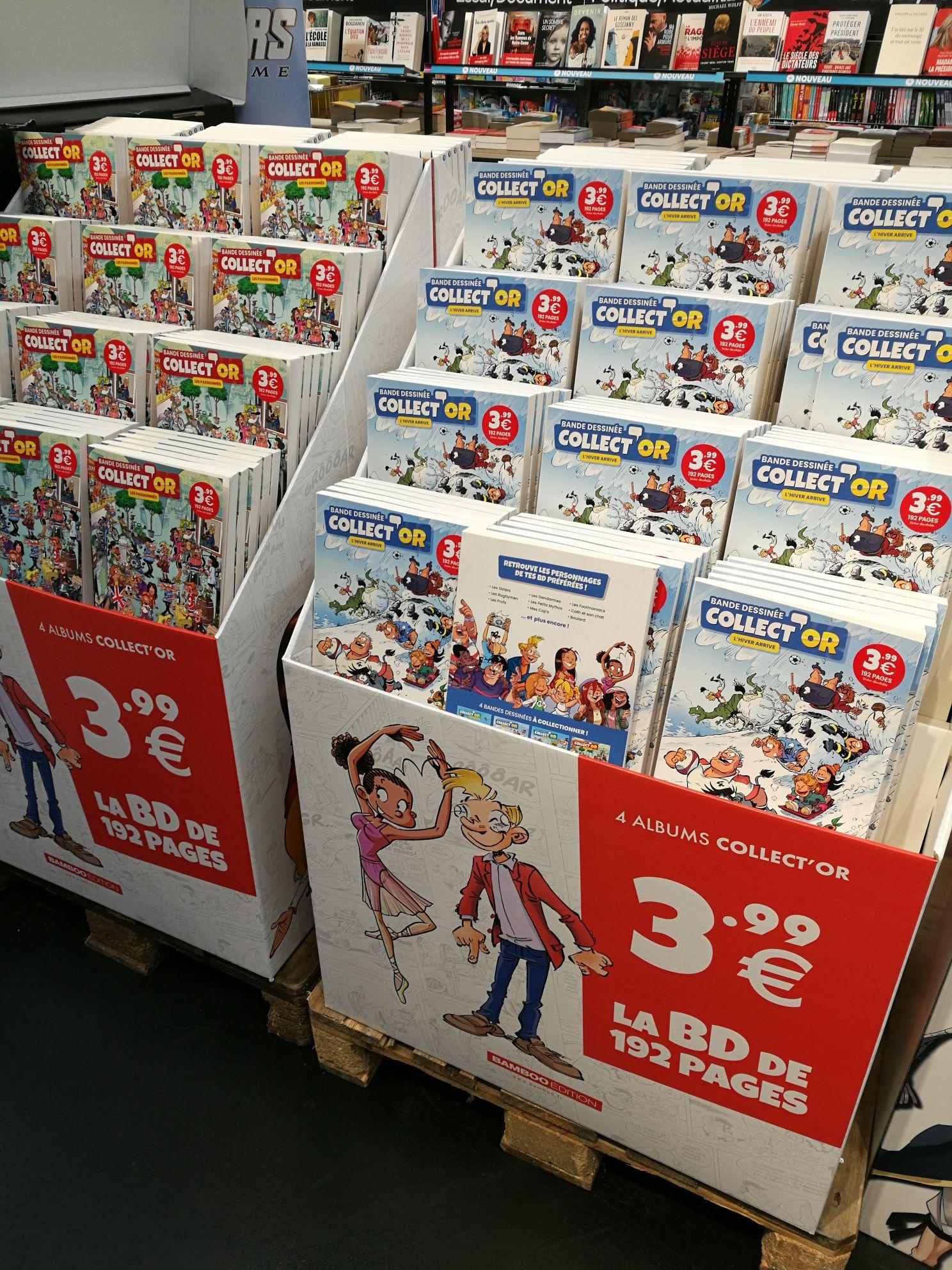Sélection de 4 BDs Collect'Or à 3.99€ (192 pages)