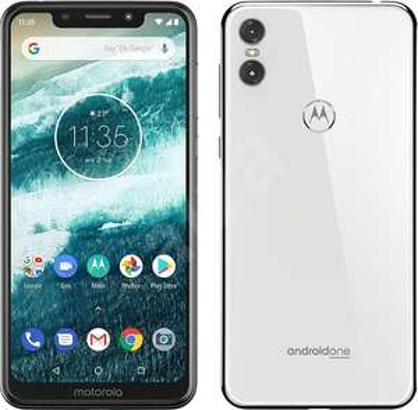 "Smartphone 5.9"" Motorola One - HD+, Snapdragon 625, RAM 4 Go, ROM 64 Go, Android One Blanc"
