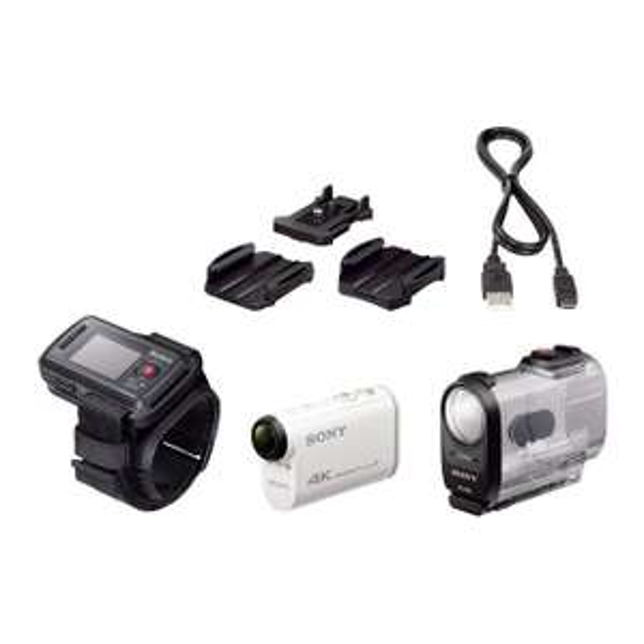 Caméra sportive Sony FDRX1000VR - 4K, Wifi, NFC + Montre de pilotage